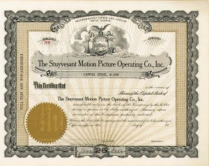 Stuyvesant Motion Picture Operating Co., Inc