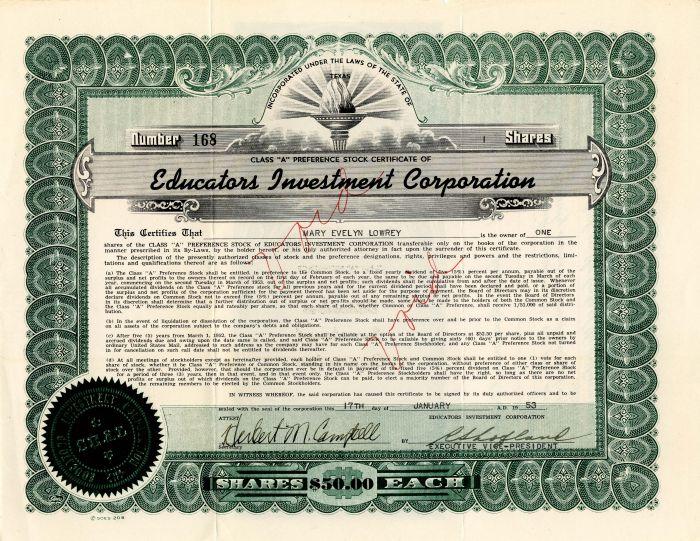 Educators Investment Corporation