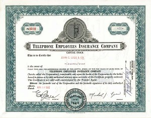 Telephone Employees Insurance Co