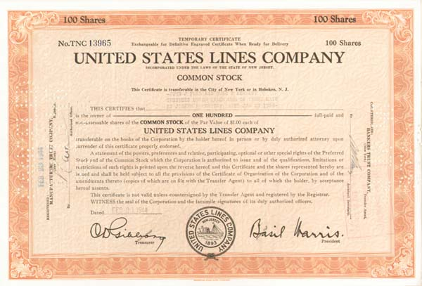 Rose F. Kennedy - United States Lines