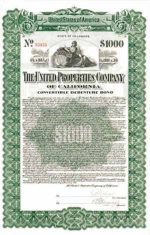 United Properties Co of California