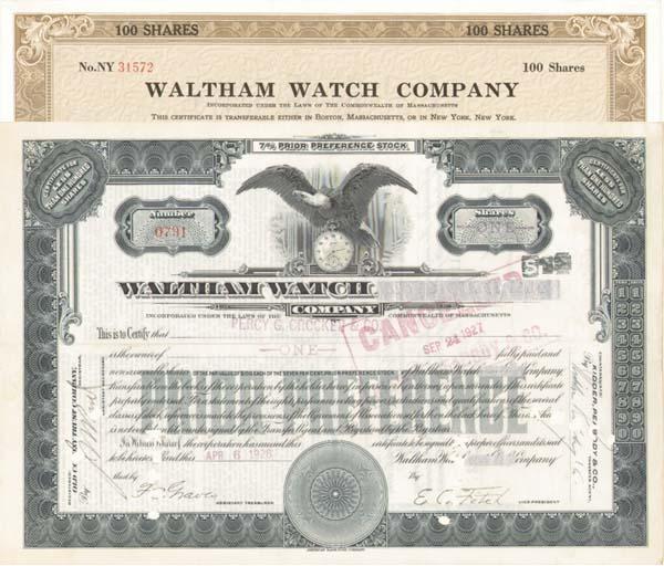 Waltham Watch Co