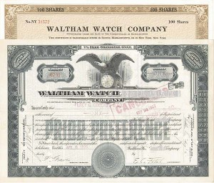 Waltham Watch Co
