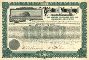 Western Maryland Railroad Company