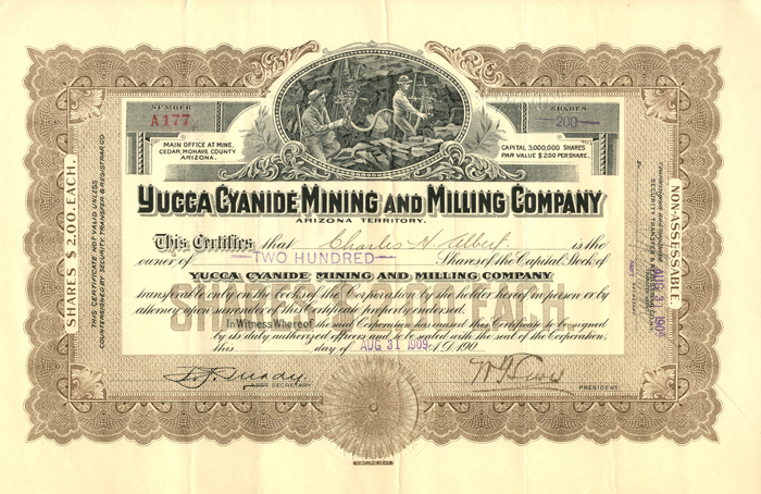Yucca Cyanide Mining and Milling Company
