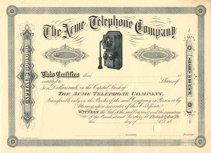Acme Telephone Company