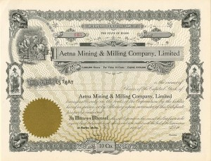 Aetna Mining & Milling Company, Limited