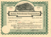 Aetna Petroleum Corporation
