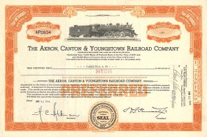 Akron, Canton & Youngstown Railroad Company