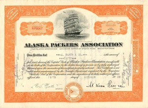 Alaska Packers Association - SOLD