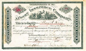 Albany Insurance Company - SOLD