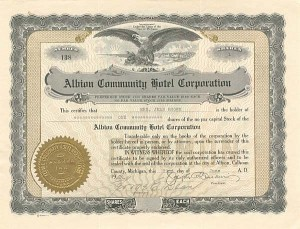 Albion Community Hotel Corporation