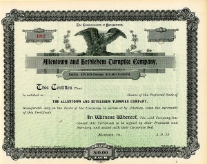 Allentown and Bethlehem Turnpike Company