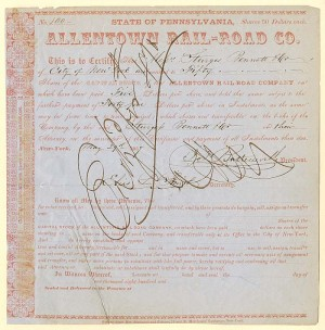 Allentown Rail-road Co.