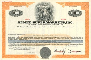 Allied Supermarkets, Inc.