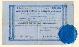 Almonesson & Westville Turnpike Company