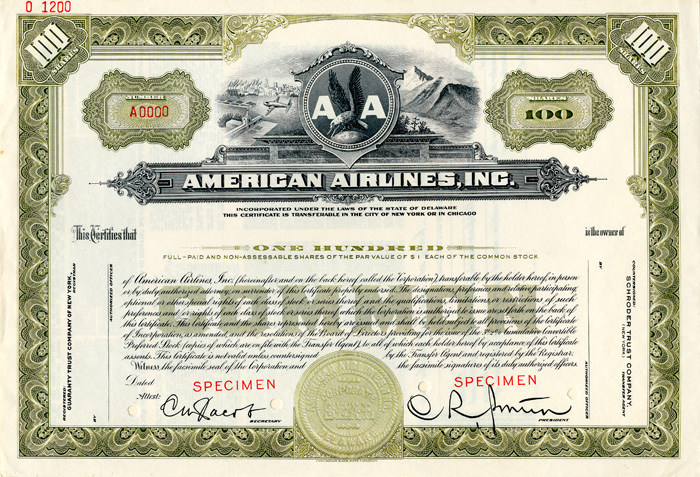 American Airlines, Inc. - SOLD
