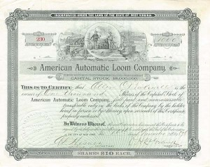 American Automatic Loom Company - SOLD