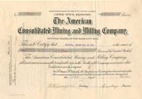 American Consolidated Mining and Milling Company
