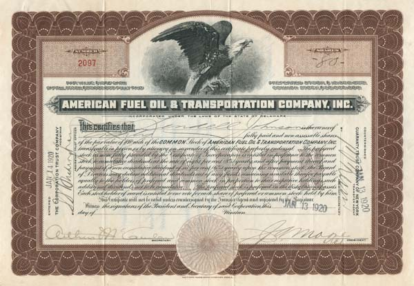 American Fuel Oil & Transportation Company, Inc.