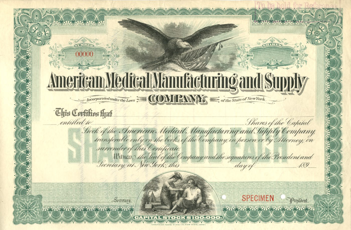 American Medical Manufacturing and Supply Company