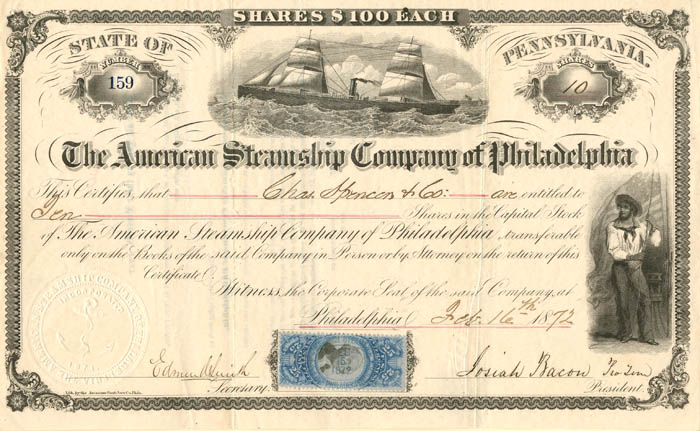 American Steamship Company of Philadelphia - SOLD