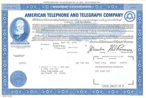 American Telephone and Telegraph Company - SOLD