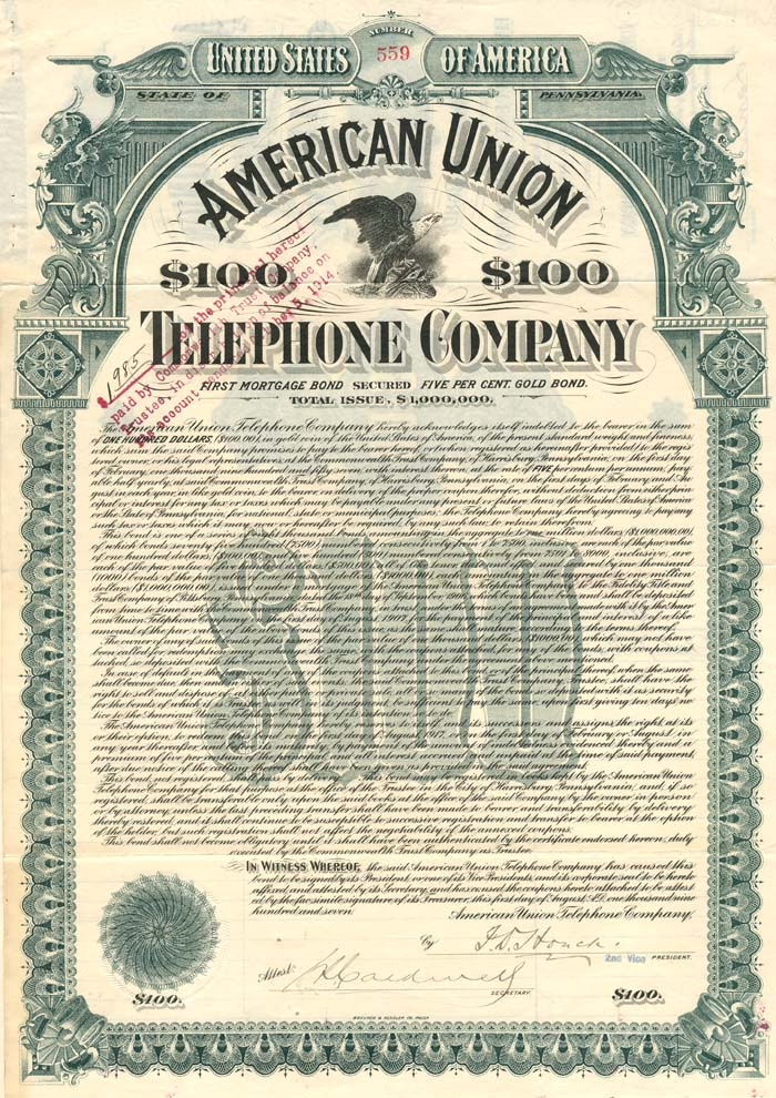American Union Telephone Company