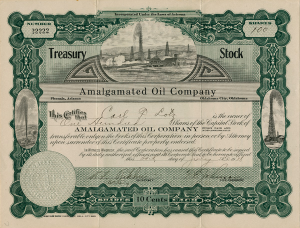 Amalgamated Oil Company
