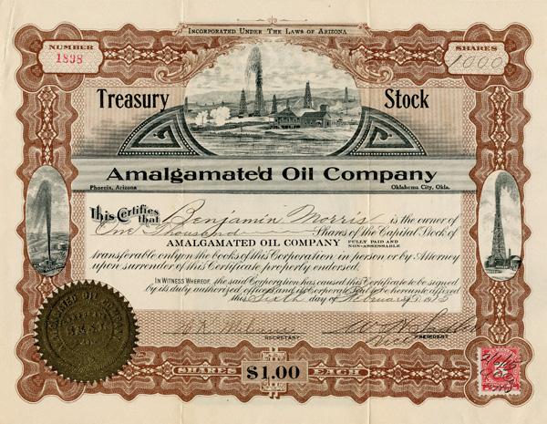 Amalgamated Oil Company