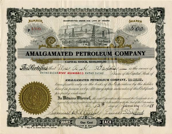 Amalgamated Petroleum Company