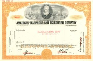 American Telephone and Telegraph Company