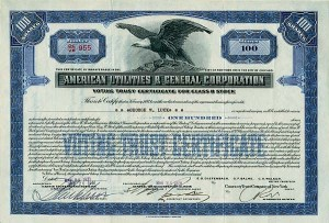 American Utilities & General Corporation - SOLD