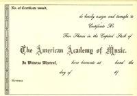 American Academy of Music