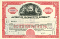 American Locomotive Company - SOLD