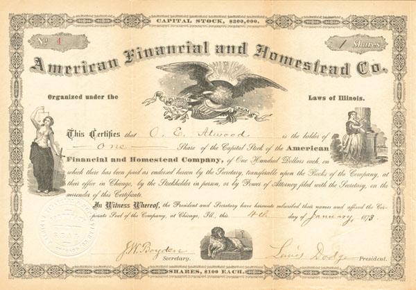 American Financial & Homestead Company