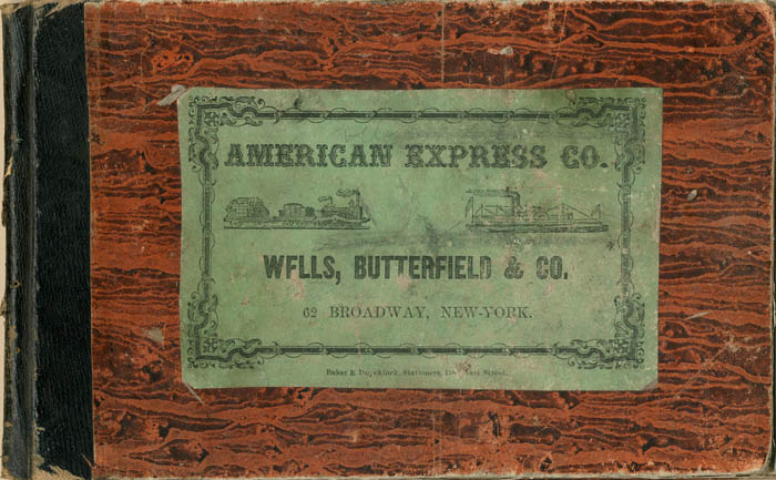 American Express Co. Book of Delivery Receipts