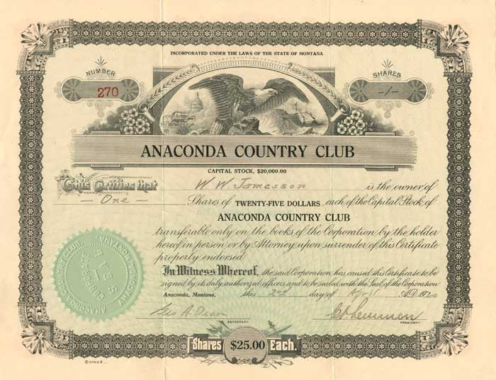 Anaconda Country Club