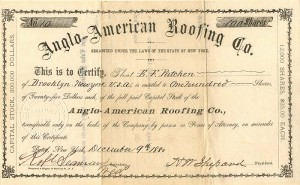 Anglo=American Roofing Co.