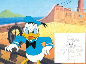 Angry Donald Duck