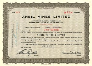 Ansil Mines Limited