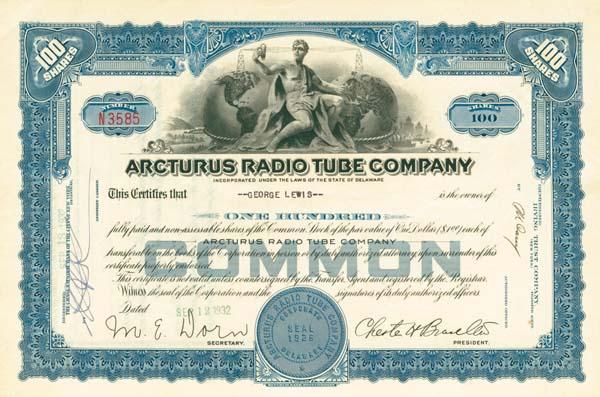 Arcturus Radio Tube Company