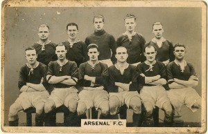 "Portrait of ""Arsenal F.C."" - SOLD"