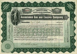 Associated Gas and Electric Company