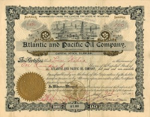 Atlantic and Pacific Oil Company, Incorporated