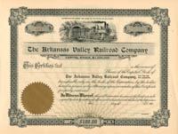 Arkansas Valley Railroad Company