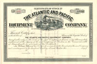 Atlantic and Pacific Equipment Company