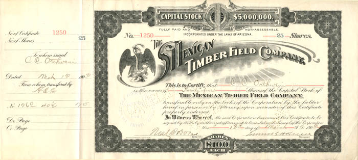 Mexican Timber Field Company