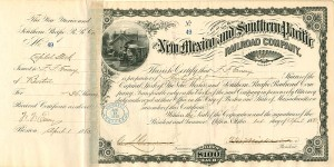 New Mexico and Southern Pacific Railroad Company