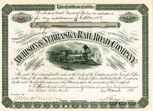Atchison & Nebraska Railroad - SOLD